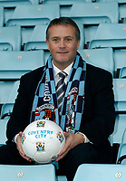 Fotball<br /> England 2004/2005<br /> Foto: SBI/Digitalsport<br /> NORWAY ONLY<br /> <br /> Coventry City Press Conference, 21/01/2005.<br /> <br /> Micky Adams is unveiled as Coventry's new manager.