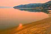 Echo Lake at sunrise<br />Echo Valley Provincial Park<br />Saskatchewan<br />Canada
