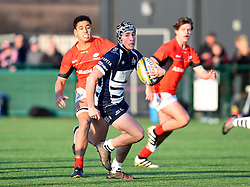 Sol Hutchins (Clifton College) of Bristol Rugby Academy U18 - Mandatory by-line: Paul Knight/JMP - 21/01/2017 - RUGBY - SGS Wise Campus - Bristol, England - Bristol Academy U18 v Saracens Academy U18 - Premiership Rugby Academy U18 League