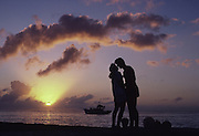 Couple at sunset<br />