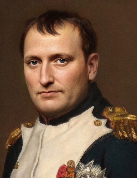 Napoleon Bonaparte, facial reconstruction  by a generative adversarial network