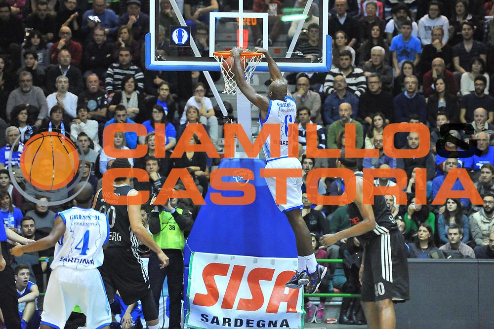 DESCRIZIONE : Eurocup 2013/14 Gr. J Dinamo Banco di Sardegna Sassari -  Brose Basket Bamberg<br /> GIOCATORE : Caleb Green<br /> CATEGORIA : Schiacciata<br /> SQUADRA : Dinamo Banco di Sardegna Sassari<br /> EVENTO : Eurocup 2013/2014<br /> GARA : Dinamo Banco di Sardegna Sassari -  Brose Basket Bamberg<br /> DATA : 19/02/2014<br /> SPORT : Pallacanestro <br /> AUTORE : Agenzia Ciamillo-Castoria / Luigi Canu<br /> Galleria : Eurocup 2013/2014<br /> Fotonotizia : Eurocup 2013/14 Gr. J Dinamo Banco di Sardegna Sassari - Brose Basket Bamberg<br /> Predefinita :