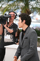 Kim Kang-woo at The Taste of Money photocall at the 65th Cannes Film Festival France. Saturday 26th May 2012 in Cannes Film Festival, France.