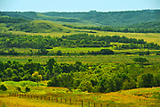 Valley along the Assiniboine River, Near Harrowby, Manitoba, Canada