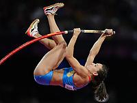 OL 2012 London<br /> Friidrett<br /> 06.08.2012<br /> Foto: Witters/Digitalsport<br /> NORWAY ONLY<br /> <br /> Elena Isinbaeva (Jelena Isinbajewa, Russland)<br /> Olympische Spiele London 2012, Leichtathletik, Stabhochsprung Damen, Finale<br /> Yelena Isinbayeva