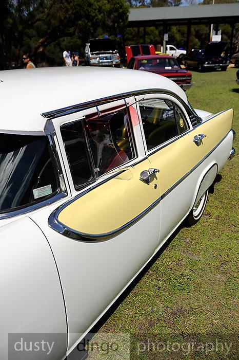 1960 FB Holden.<br /> 2011 Classic Car Show, Whiteman Park, Perth, Western Australia. March 20, 2011
