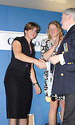 Lords, London, GB Rowing Teams Dinner, Katherine GRAINGER stroke of the GBR Women's Quadruple scull  receives her Gold medal from FISA Official Mike WILLIAMS. After The announcement by FISA on Mon 29.01.2006 that  the Bow of the Russsian womens Quad. who won the Gold medal at the 2006 World  Champs at Eton had tested positive, in a drus test. [Photo, Peter Spurrier/Intersport-images].  [Mandatory Credit, Peter Spurier/ Intersport Images].