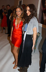 Left to right, JADE JAGGER and ELIZABETH JAGGER at the Moet & Chandon Fashion Tribute 2005 to Matthew Williamson, held at Old Billingsgate, City of London on 16th February 2005.<br /><br />NON EXCLUSIVE - WORLD RIGHTS