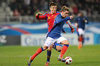 FOOTBALL - UNDER 21 - FRIENDLY GAME - FRANCE v SPAIN - 24/03/2011 - PHOTO GUILLAUME RAMON / DPPI -<br /> ANTOINE GRIEZMANN (FRA)