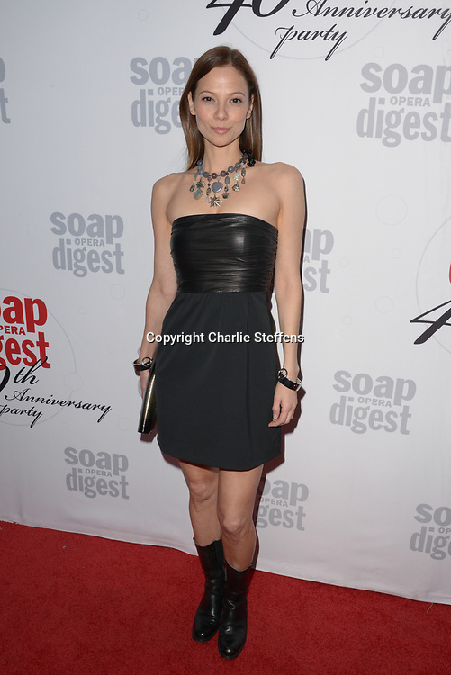 TAMARA BRAUN at Soap Opera Digest's 40th Anniversary party at The Argyle Hollywood in Los Angeles, California