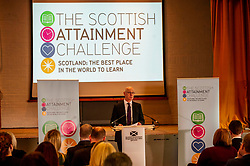 Pictured: John Swinney<br /><br />Education Secretary, John Swinney, MSP, addressed more than 100 teachers and education leaders, as he provided an update on the terms of reference for a review of the curriculum, in a speech marking five years of the Scottish Attainment Challenge.<br /><br />Ger Harley   EEm 26 February 2020
