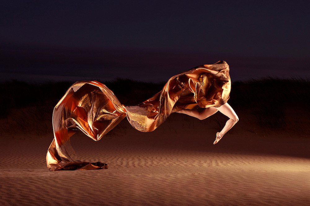 Dancer in the Dunes   Personal work