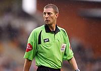 Photo: Rich Eaton.<br /> <br /> Wolverhampton Wanderers v West Bromwich Albion. Coca Cola Championship. Play off Semi Final, 1st Leg. 13/05/2007. referee Steve Tanner