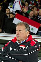 Malmö  2012-10-11  Fotboll  Landskamp  Brazil    - Iraq   :  Iraq Coach Zico.(Foto: Christer Thorell, Pic-Agency.com) Nyckelord : fotboll , football , soccer , Landskamp , Herrar , Men , Brazil , Iraq , .