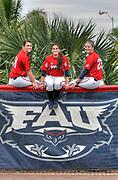 2013 FAU Softball Photo Day