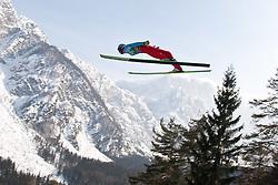 19.03.2010, Planica, Kranjska Gora, SLO, FIS SKI Flying World Championships 2010, Flying Hill Individual, im Bild Thomas Morgenstern, ( AUT, #38 ), EXPA Pictures © 2010, PhotoCredit: EXPA/ J. Groder / SPORTIDA PHOTO AGENCY