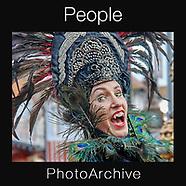 People Photo art Prints by Photographer Paul E Williams