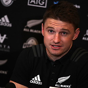 20181120 Rugby : Conferenza stampa All Blacks