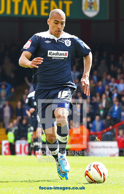 Picture by Paul Terry/Focus Images Ltd +44 7545 642257.27/04/2013.James Vaughan of Huddersfield Town during the npower Championship match at Ashton Gate, Bristol.