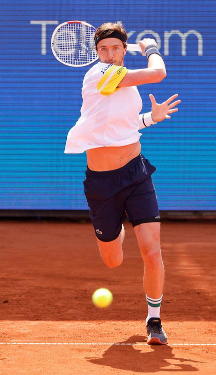 Tennis-ATP Serbia Open Belgrade 2021-<br /> Arthur Rinderknech (FRA) v Miomir Kecmanovic (SRB)<br /> Beograd, 21.04.2021.foto: Srdjan Stevanovic/Starsportphoto ©