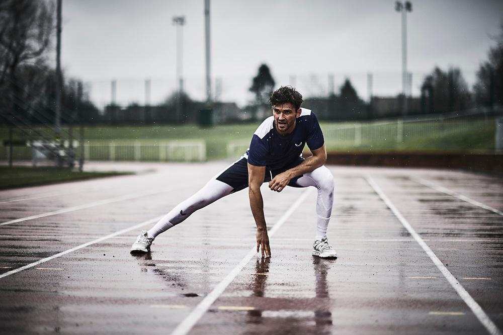 A portfolio of sports images shot for castore sportswear.
