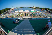 Poznan, POLAND, 22nd June 2019, Saturday, Morning Heats, Views Boat Park,  FISA World Rowing Cup II, Malta Lake Course, © Peter SPURRIER/Intersport Images,<br /> <br /> 07:42:17
