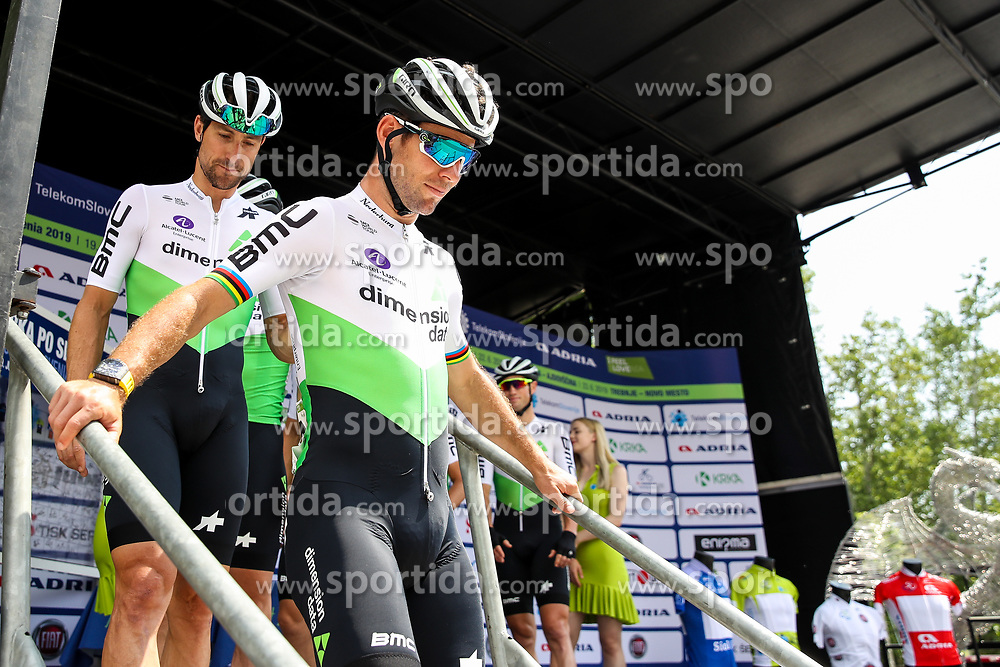 Mark Cavendish (GBR) of Team Dimension Data and Mark Cavendish (GBR) of Team Dimension Data during 1st Stage of 26th Tour of Slovenia 2019 cycling race between Ljubljana and Rogaska Slatina (171 km), on June 19, 2019 in  Slovenia. Photo by Matic Klansek Velej / Sportida