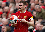 James Milner of Liverpool during the Premier League match at Anfield, Liverpool. Picture date: 7th March 2020. Picture credit should read: Darren Staples/Sportimage