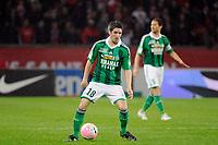 FOOTBALL - FRENCH CHAMPIONSHIP 2011/2012 - L1 - PARIS SAINT GERMAIN v AS SAINT ETIENNE - 2/05/2012 - PHOTO JEAN MARIE HERVIO / DPPI - FABIEN LEMOINE (ASSE)