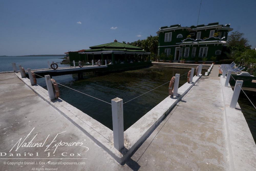 Scenes from around the little hotel Casa Verde in the small town of Punta Gorda on the Bay of Cienfuegos, Cuba.