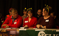 Lakes Region Scholarship Foundation 19th annual spelling bee at Laconia High School.  Karen Bobotas for the Laconia Daily Sun