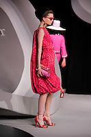 Sofi Berelidze walks the runway  at the Christian Dior Cruise Collection 2008 Fashion Show