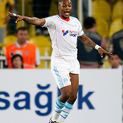 Marseille's Andre Ayew during their UEFA Europa League Group Stage Group C soccer match Fenerbahce between Marseille at Sukru Saracaoglu stadium in Istanbul Turkey on Thursday 20 September 2012. Photo by TURKPIX