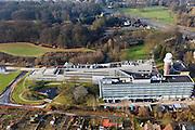 Nederland, Utrecht, De Bilt, 10-01-2011;.KNMI, het Koninklijk Nederlands Meteorologisch Instituut in de Bilt. .KNMI, the Royal Dutch Meteorological Institute in De Bilt..luchtfoto (toeslag), aerial photo (additional fee required).foto/photo Siebe Swart