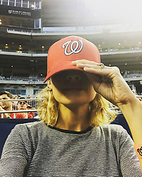 """Nicole Richie releases a photo on Instagram with the following caption: """"I've always thought of myself as a Ginger Spice, but last night I went to a Nationals game \u0026 now I'm thinking my summer vibe might be a Ginger/Sporty mix ... thoughts?"""". Photo Credit: Instagram *** No USA Distribution *** For Editorial Use Only *** Not to be Published in Books or Photo Books ***  Please note: Fees charged by the agency are for the agency's services only, and do not, nor are they intended to, convey to the user any ownership of Copyright or License in the material. The agency does not claim any ownership including but not limited to Copyright or License in the attached material. By publishing this material you expressly agree to indemnify and to hold the agency and its directors, shareholders and employees harmless from any loss, claims, damages, demands, expenses (including legal fees), or any causes of action or allegation against the agency arising out of or connected in any way with publication of the material."""