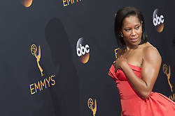 September 18, 2016 - Los Angeles, California, U.S. - REGINA KING arrives for the 68th Annual Primetime Emmy Awards, held at the Nokia Theatre. (Credit Image: © Kevin Sullivan via ZUMA Wire)