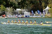 Bled, SLOVENIA. AUS M8+, Final,  2011 FISA World Rowing Championships, Lake Bled. Thursday  01/09/2011   [Mandatory Credit; Intersport Images]