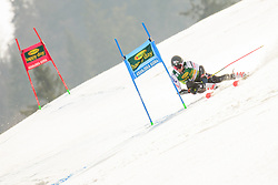 March 9, 2019 - Kranjska Gora, Kranjska Gora, Slovenia - Ryan Cochran-Siegle of United States of America in action during Audi FIS Ski World Cup Vitranc on March 8, 2019 in Kranjska Gora, Slovenia. (Credit Image: © Rok Rakun/Pacific Press via ZUMA Wire)