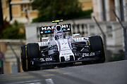 May 20-24, 2015: Monaco Grand Prix - Valtteri Bottas (FIN), Williams Martini Racing