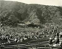 1922 Will Hays speaking at the Hollywood Bowl