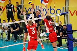 20170524 NED: 2018 FIVB Volleyball World Championship qualification, Koog aan de Zaan<br />Mittag Tzourits (2) of Greece <br />©2017-FotoHoogendoorn.nl / Pim Waslander