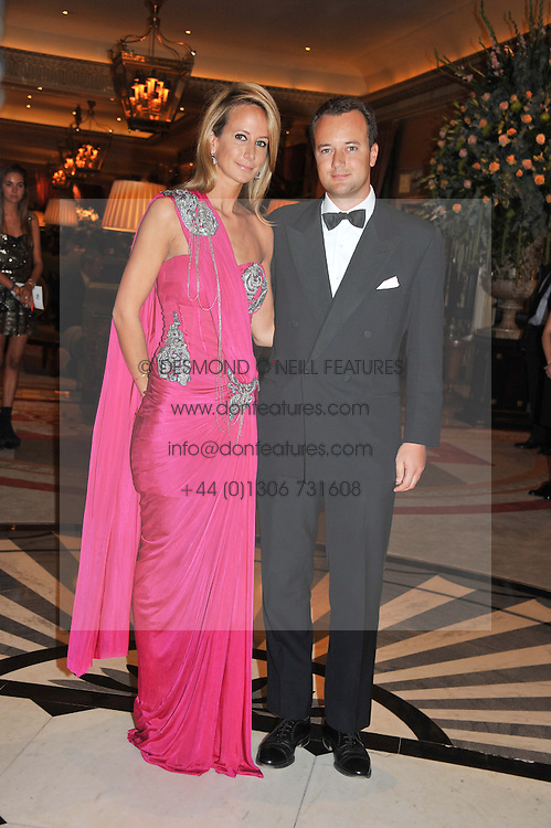The 8th MARQUESS OF BRISTOL and his sister LADY VICTORIA HERVEY at Fashion For The Brave held at The Dorchester Hotel, Park Lane, London on 20th September 2012.