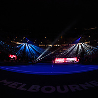 The scene ahead of the championship match of the 2018 Australian Open on day 14 at Rod Laver Arena in Melbourne, Australia on Sunday afternoon January 28, 2018.<br /> (Ben Solomon/Tennis Australia)