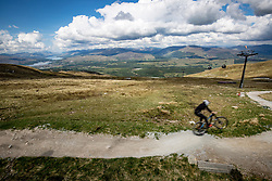 Images from the viewpoint at the Snowgoose restaurant, on the slopes of Aonach Mor, after using the Nevis Range mountain gondola, which transports visitors effortlessly from 300ft up to 2150ft on the north face of Aonach Mor, the eighth highest mountain in Britain.