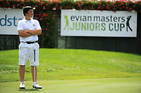 GOLF - EVIAN MASTERS JUNIORS CUP 2012 - EVIAN MASTERS GOLF CLUB (FRA) - 21-22/07/2012 - PHOTO OLIVIER GAUTHIER / KMSP / DPPI - VIKTOR HOVLAND (NOR)