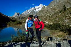 16-09-2017 FRA: BvdGF Tour du Mont Blanc day 7, Beaufort<br /> De laatste etappe waar we starten eindigen we ook weer na een prachtige route langs de Mt. Blanc / Tjebbe, Ronald