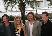 Ben Mendelsohn, Dede Gardner, Brad Pitt and Ray Liotta at the Killing Them Softly photocall at the 65th Cannes Film Festival France. Tuesday 22nd May 2012 in Cannes Film Festival, France.