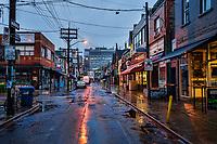 Kensington Market in the Rain