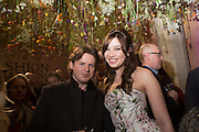 CHRISTOPHER KANE; DAISY LOWE, Fashion and Gardens, The Garden Museum, Lambeth Palace Rd. SE!. 6 February 2014.