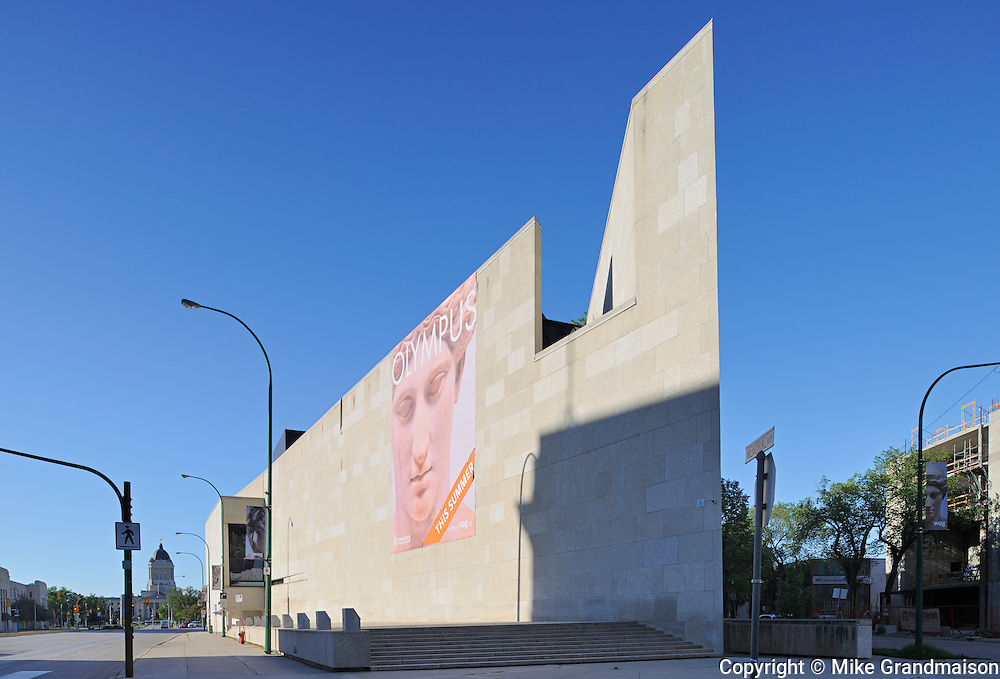 The Winnipeg Art Gallery (WAG)<br /> Winnipeg<br /> Manitoba<br /> Canada